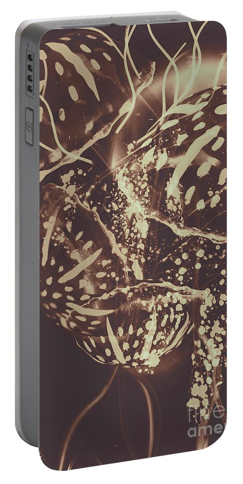 Fish Portable Battery Charger featuring the photograph Translucent Abstraction by Jorgo Photography - Wall Art Gallery