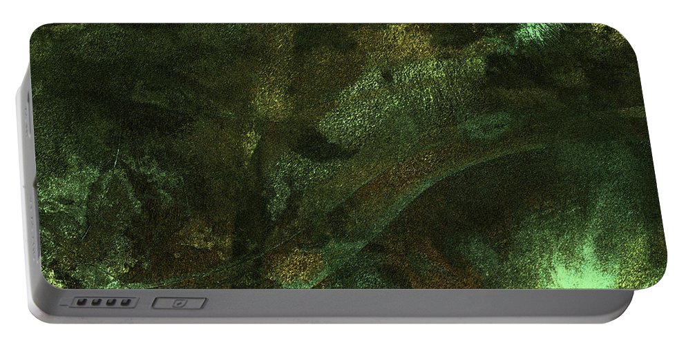 Millionaire Portable Battery Charger featuring the digital art Treasures Abound by James Barnes