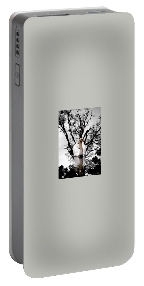 Water Portable Battery Charger featuring the photograph Trees In Japan 6 by George Cabig