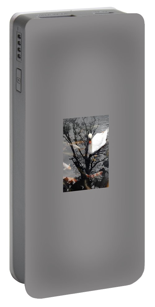 Water Portable Battery Charger featuring the photograph Trees In Japan 7 by George Cabig