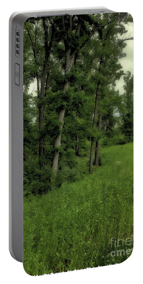 Tree Portable Battery Charger featuring the photograph Trees by Madeline Ellis