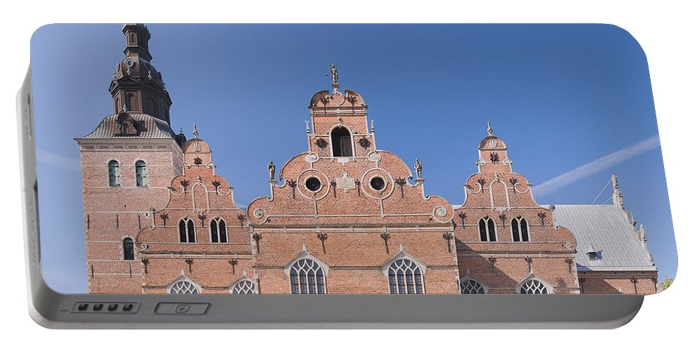 Kristianstad Portable Battery Charger featuring the photograph Trinity Church In Kristianstad by Antony McAulay