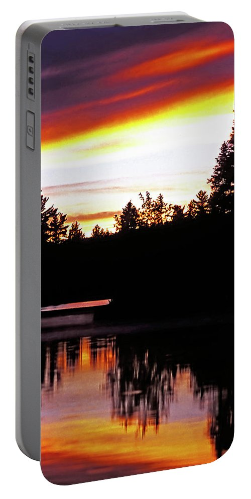 Landscape Portable Battery Charger featuring the photograph Tripping II by Steve Harrington