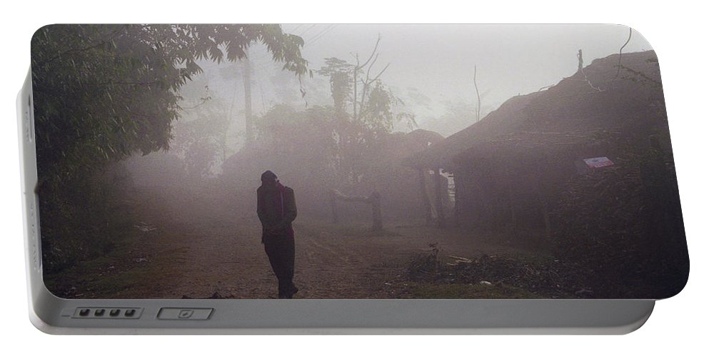 Nepal Portable Battery Charger featuring the photograph Tristesse by Patrick Klauss