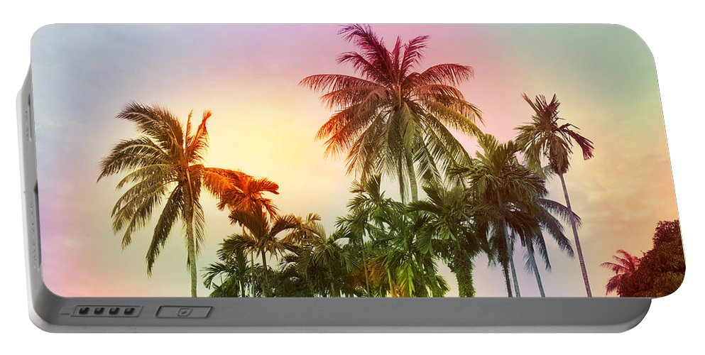 Tropical Portable Battery Charger featuring the photograph Tropical 11 by Mark Ashkenazi