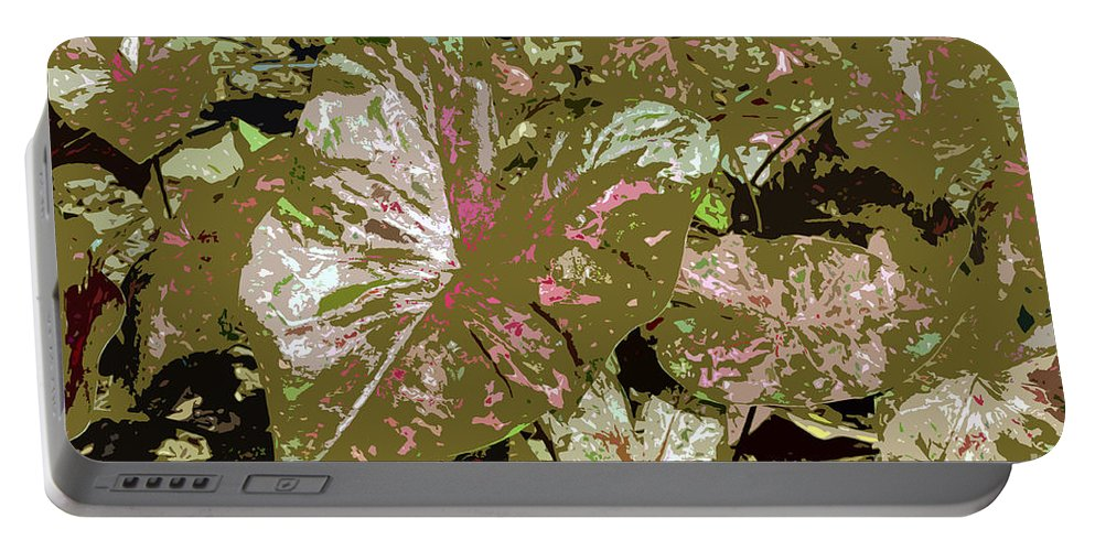 Tropical Portable Battery Charger featuring the photograph Tropicals by David Lee Thompson