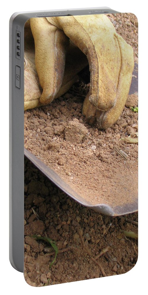 Photography Portable Battery Charger featuring the photograph True Work by Dawn Marshall