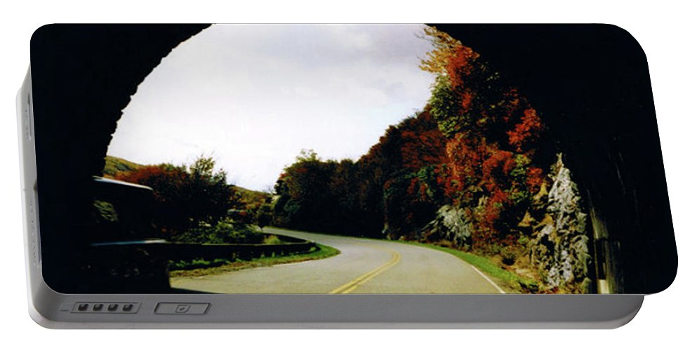 Tunnel Vision Portable Battery Charger featuring the photograph Tunnel Vision by Seth Weaver