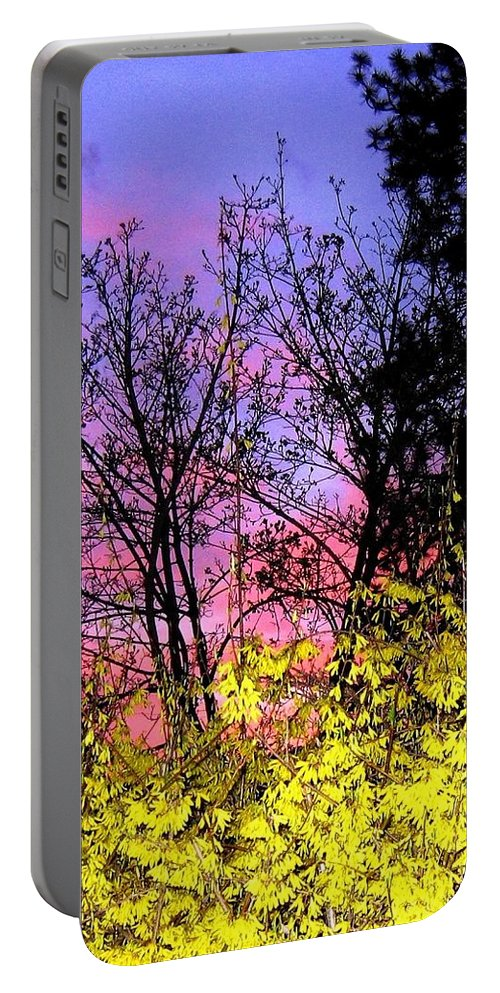 Twilight Portable Battery Charger featuring the photograph Twilight Time by Will Borden