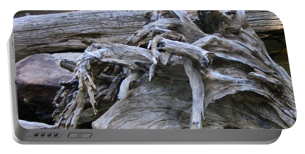 Landscape Portable Battery Charger featuring the photograph Twisted Fate by Dawn Marshall