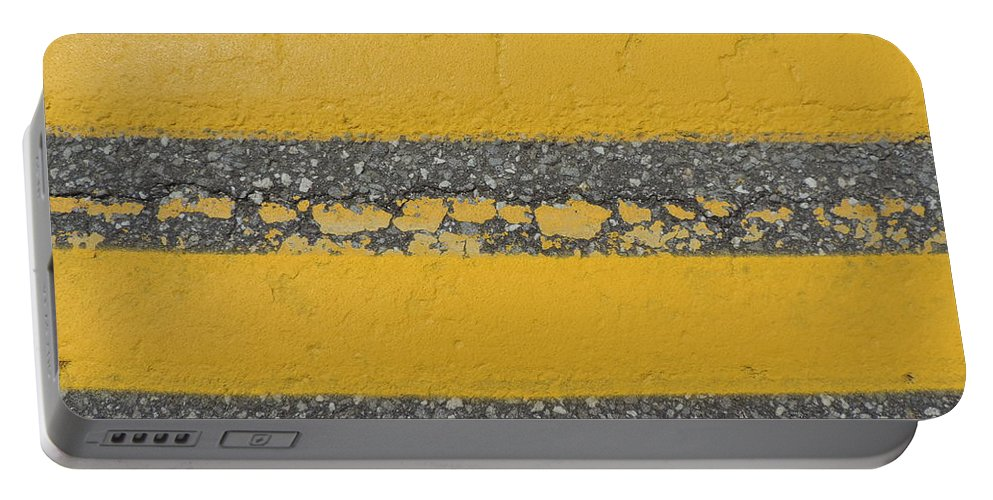 two Yellow Portable Battery Charger featuring the photograph Two Country Yellow by Bill Tomsa