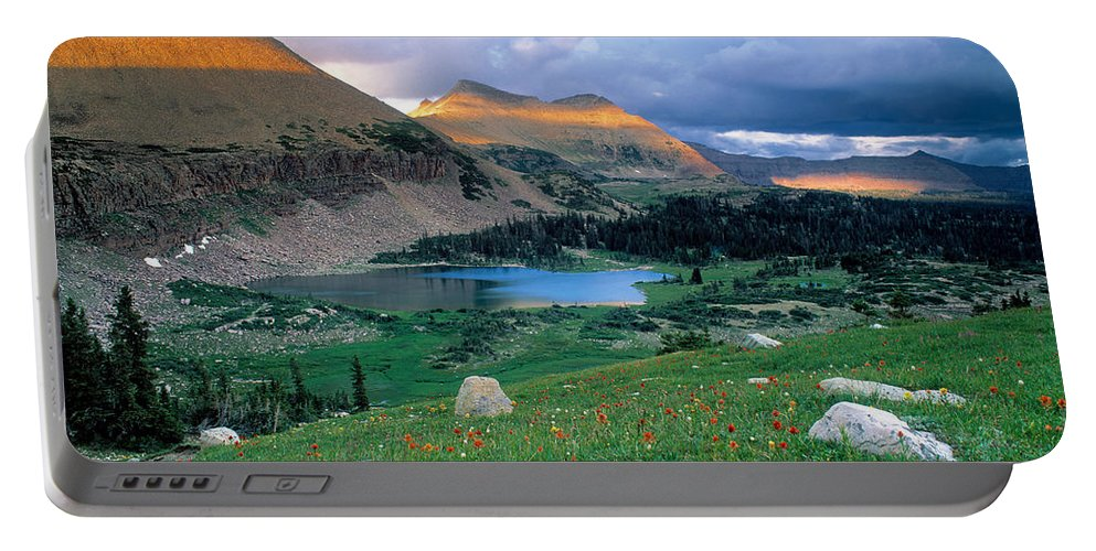 Uinta Wilderness Portable Battery Charger featuring the photograph Uinta Wilderness by Leland D Howard