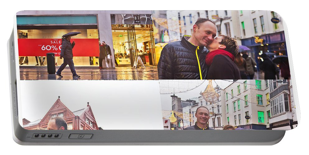 Engagement Portable Battery Charger featuring the photograph Ula And Wojtek Engagement 5 by Alex Art and Photo