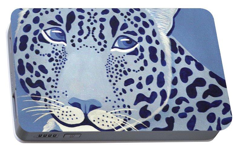 Ultramarine Jaguar Portable Battery Charger