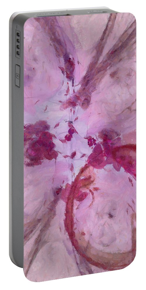 Ndr099 Portable Battery Charger featuring the painting Unadapt Configuration Id 16097-233113-62220 by S Lurk