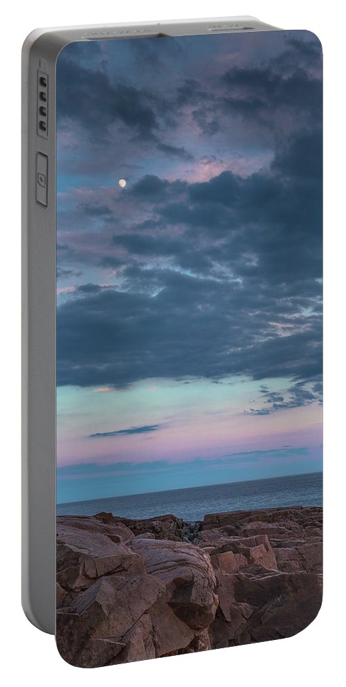 Maine Portable Battery Charger featuring the photograph Undeterred by Arti Panchal