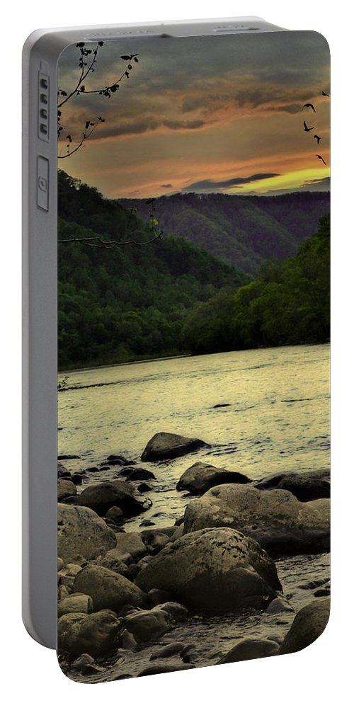Lisa Lambert Portable Battery Charger featuring the photograph Unity by Lj Lambert