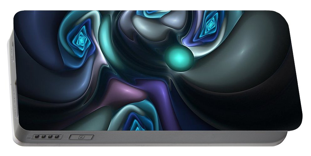 Digital Painting Portable Battery Charger featuring the digital art Untitled 04-14-10-b by David Lane