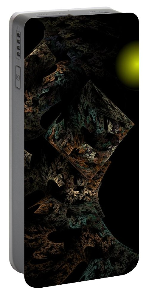 Fantasy Portable Battery Charger featuring the digital art Untitled 12-18-09 by David Lane