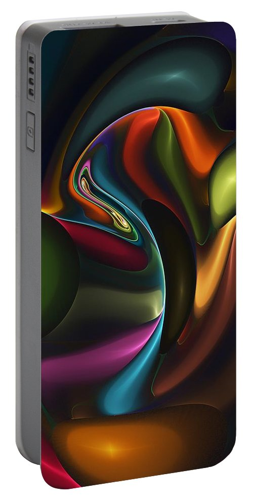 Digital Painting Portable Battery Charger featuring the digital art Untitled 4-10-10-a by David Lane
