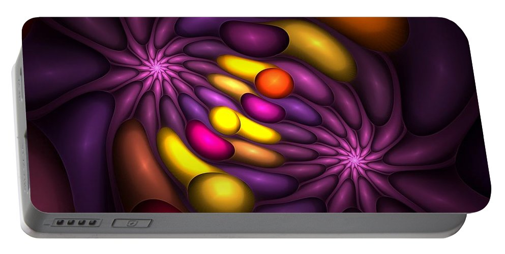 Digital Painting Portable Battery Charger featuring the digital art Untitled 4-10-10 by David Lane