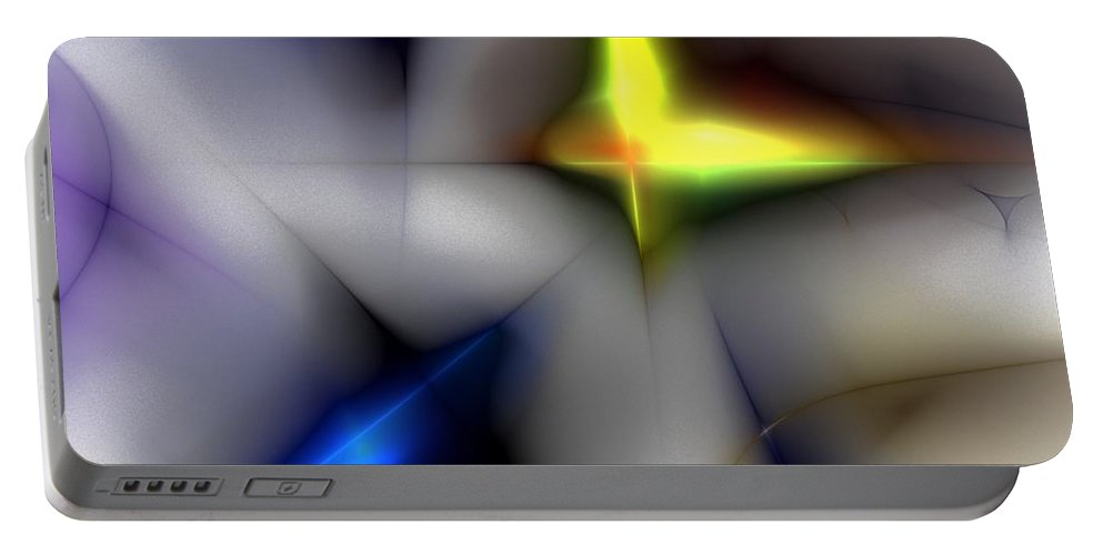 Digital Painting Portable Battery Charger featuring the digital art Untitled 4-13-10 by David Lane