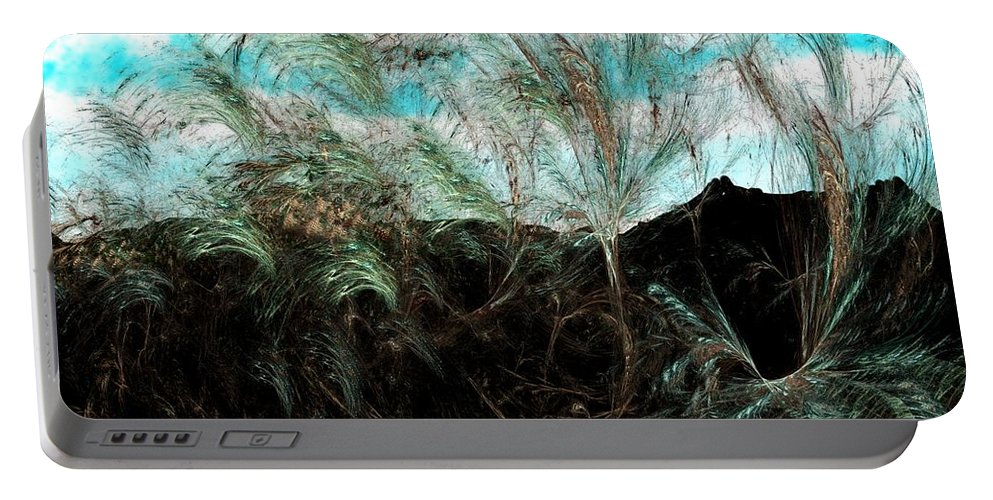 Digital Photograph Portable Battery Charger featuring the digital art Untitled 9-26-09 by David Lane