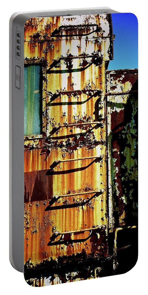 Urban Decay Art Portable Battery Charger featuring the photograph Up by Brandon Addis