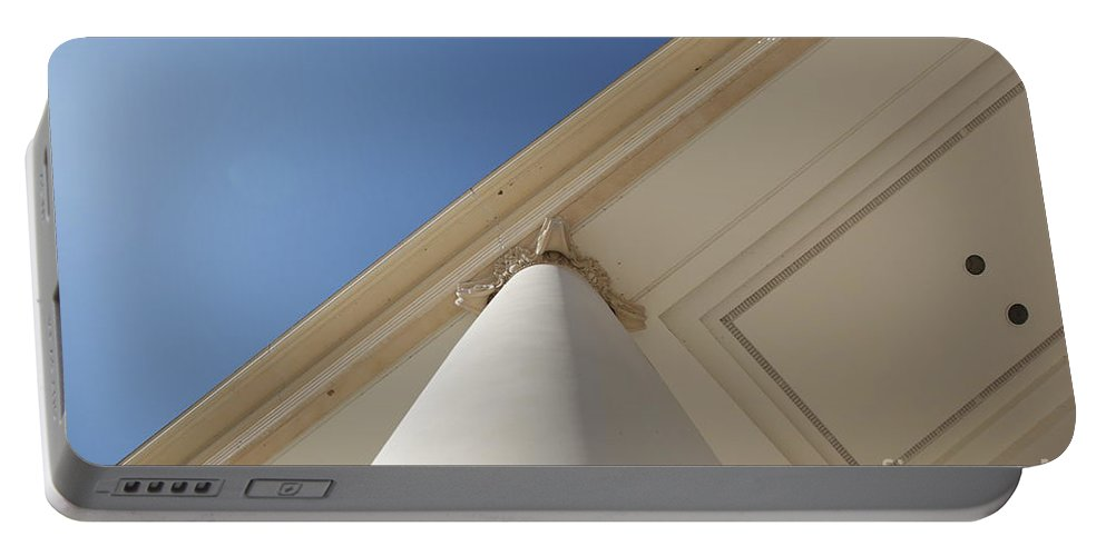 Architecture Portable Battery Charger featuring the photograph Up by Dean Triolo