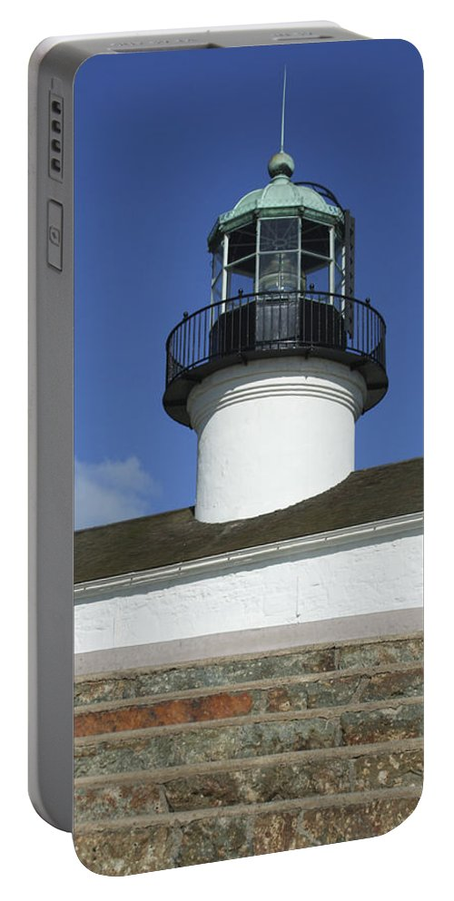 Bay Portable Battery Charger featuring the photograph Up To The Light by Margie Wildblood