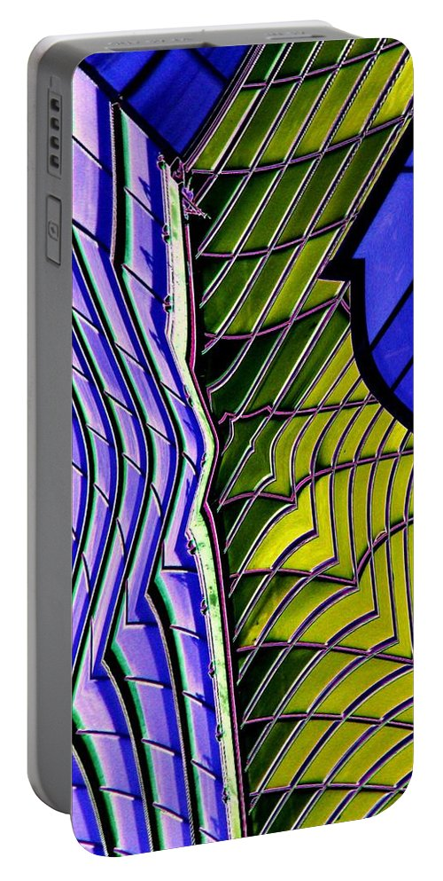 Urban Portable Battery Charger featuring the photograph Urban Abstract 2 by Tim Allen