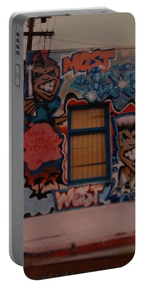 Urban Portable Battery Charger featuring the photograph Urban Art by Rob Hans