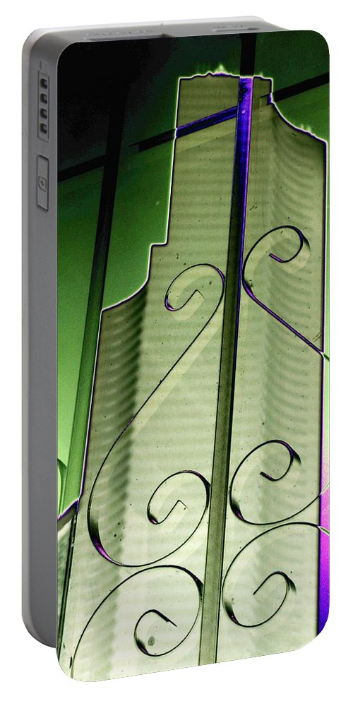 Seattle Portable Battery Charger featuring the photograph Urban Reflection 2 by Tim Allen