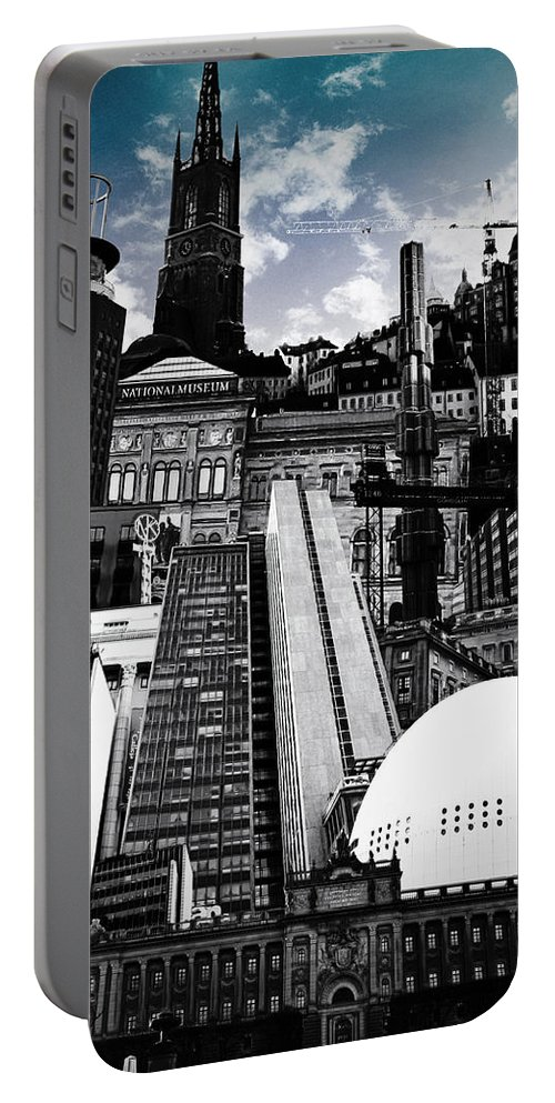 City Portable Battery Charger featuring the photograph Urban Stockholm by Nicklas Gustafsson