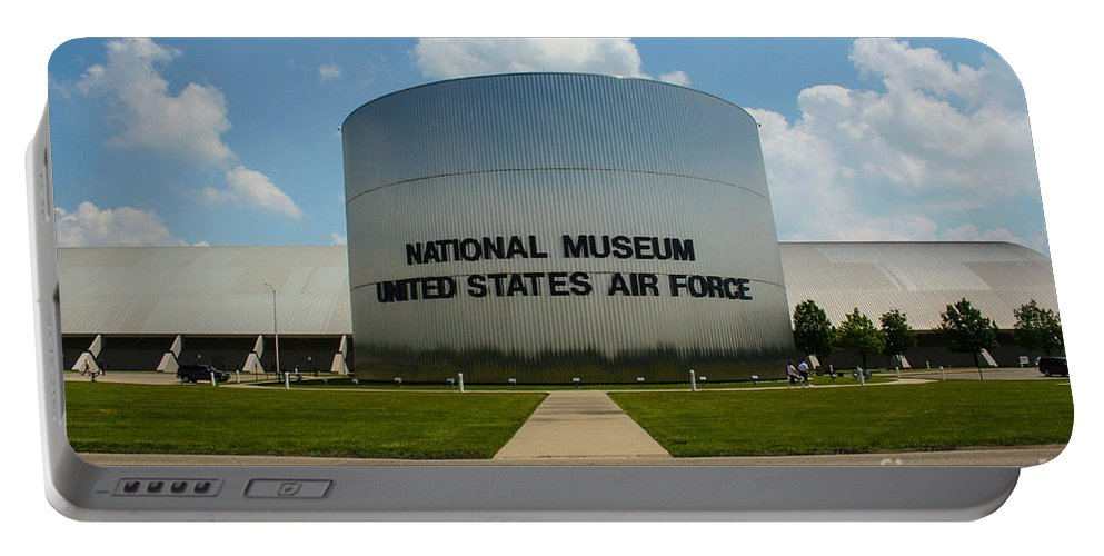 Usaf Museum Portable Battery Charger featuring the photograph Usaf Museum by Tommy Anderson