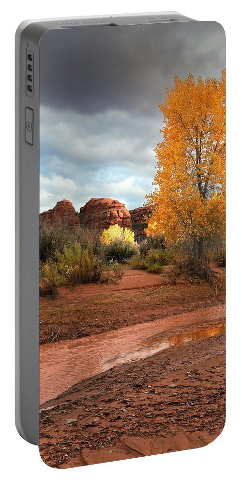 Utah Portable Battery Charger featuring the photograph Utah Autumn by Gary Yost