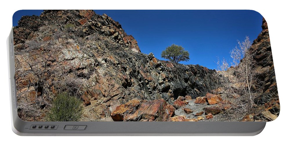 Rock Portable Battery Charger featuring the photograph Utah Rocks by Buck Buchanan