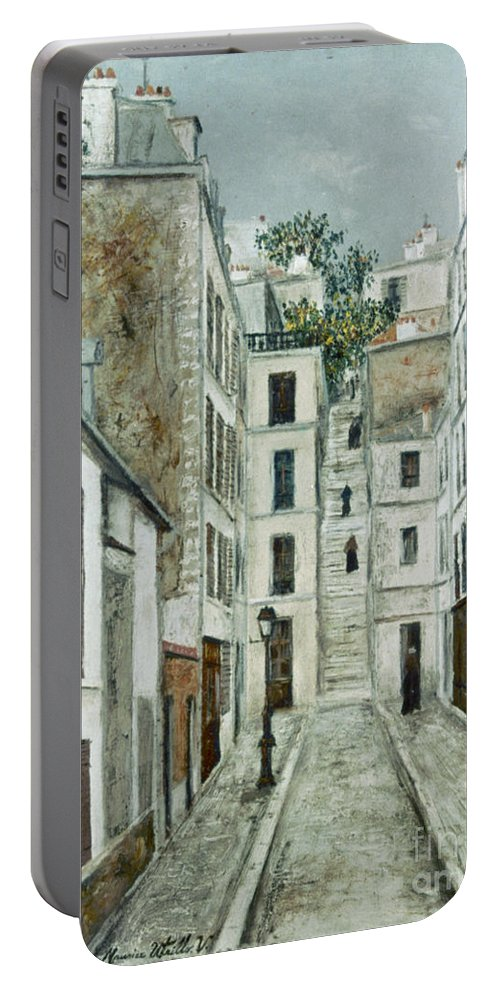 1911 Portable Battery Charger featuring the photograph Utrillo: Limpasse, 1911 by Granger