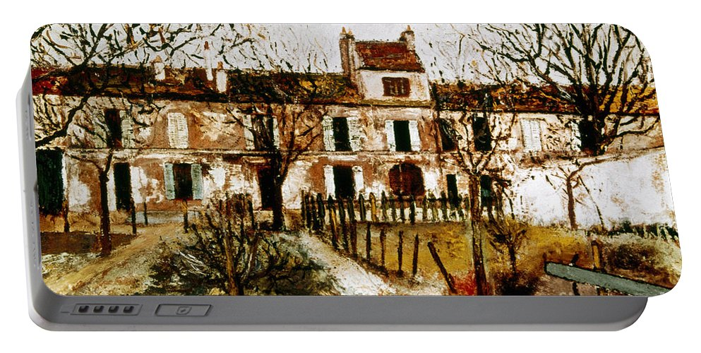 1908 Portable Battery Charger featuring the photograph Utrillo: Montmagny, 1908-9 by Granger