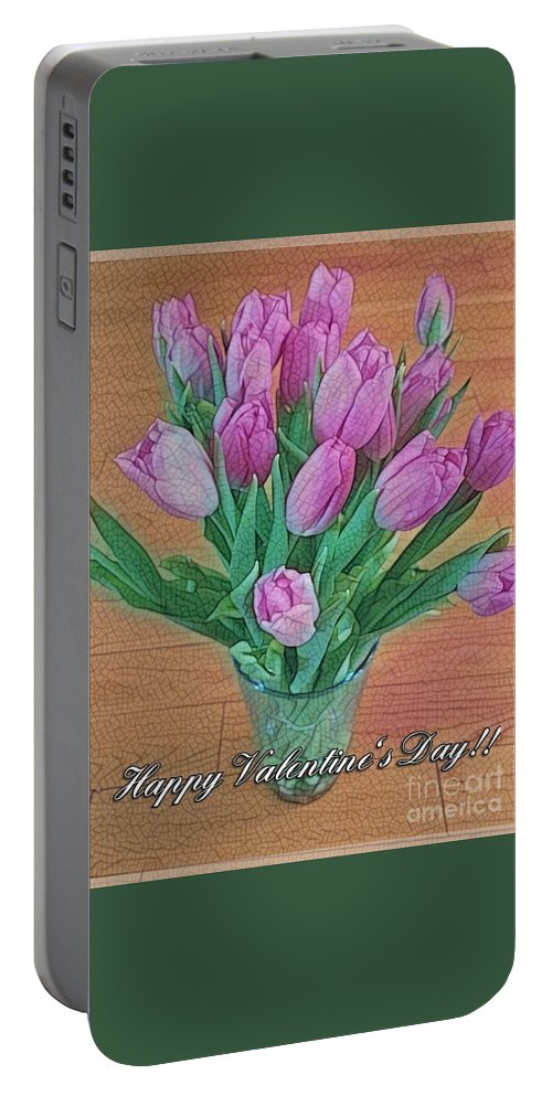 Greeting Card Portable Battery Charger featuring the photograph Valentine's Day by Nermine Hanna
