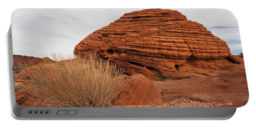 Valley Of Fire State Park Portable Battery Charger featuring the photograph Valley Of Fire State Park Beehives by Jason O Watson