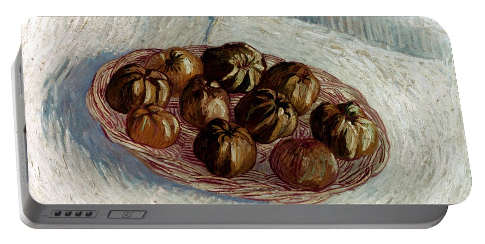 1887 Portable Battery Charger featuring the photograph Van Gogh: Apples, 1887 by Granger