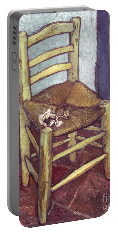 1888 Portable Battery Charger featuring the photograph Van Gogh: Chair, 1888-89 by Granger