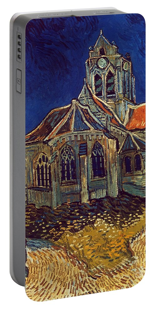 1890 Portable Battery Charger featuring the photograph Van Gogh: Church, 1890 by Granger