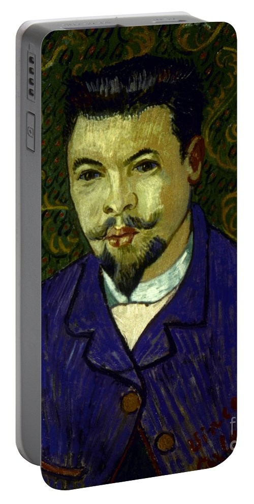 19th Century Portable Battery Charger featuring the photograph Van Gogh: Dr Rey, 19th C by Granger
