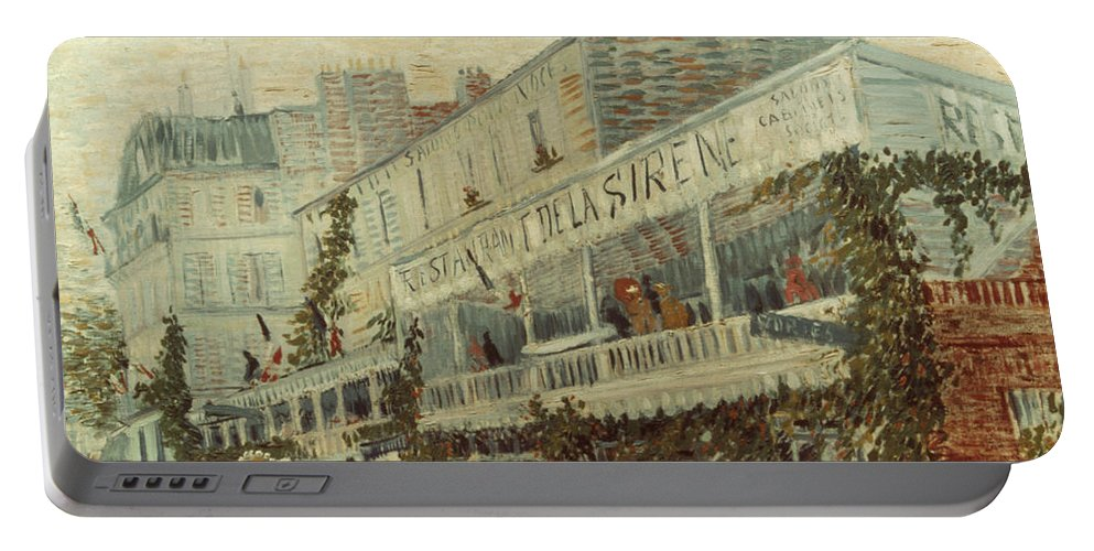 1887 Portable Battery Charger featuring the photograph Van Gogh: La Sirene, 1887 by Granger