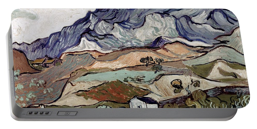 1890 Portable Battery Charger featuring the photograph Van Gogh: Landscape, 1890 by Granger