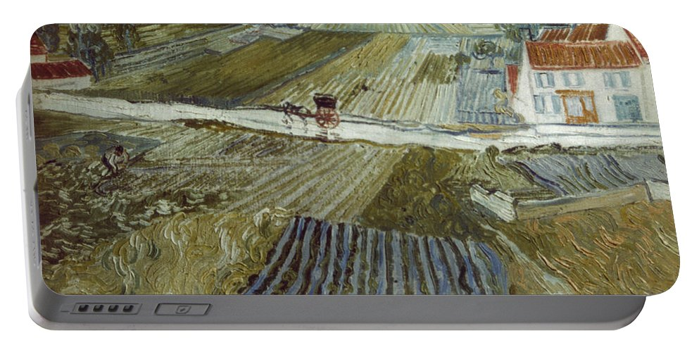 1888 Portable Battery Charger featuring the photograph Van Gogh: Landscape, C1888 by Granger