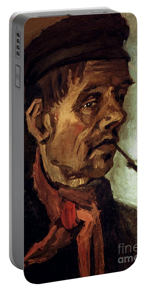 1884 Portable Battery Charger featuring the photograph Van Gogh: Peasant, 1884 by Granger