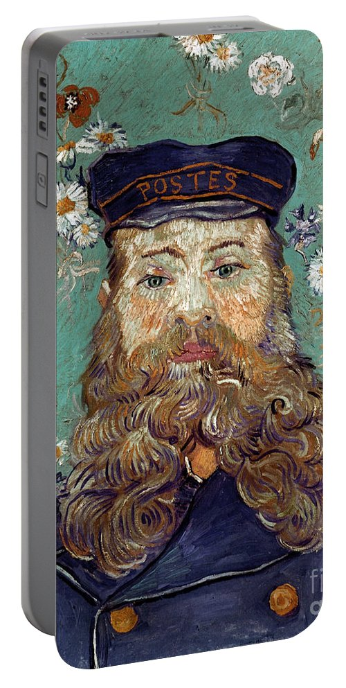 1889 Portable Battery Charger featuring the photograph Van Gogh: Postman, 1889 by Granger